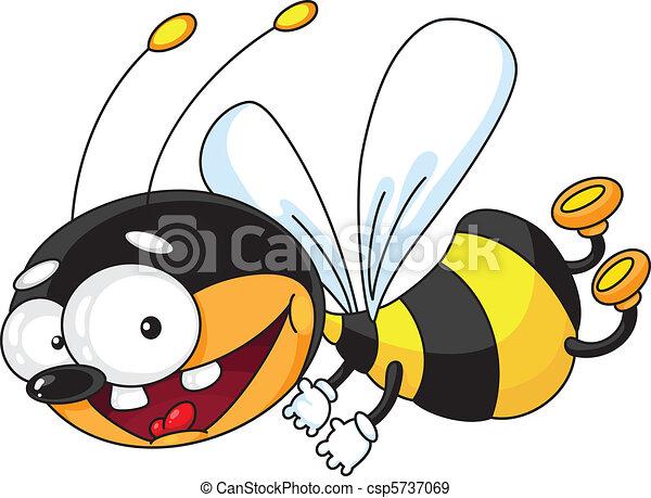 voler, abeille - csp5737069