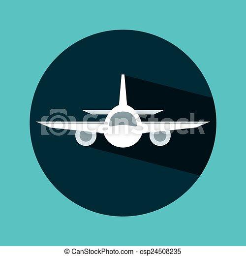 voyage, avion - csp24508235