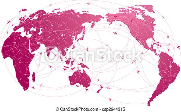 voyage, global - csp2944315