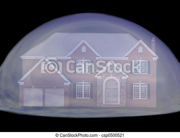 vrai, bulle, propriété - csp0500521