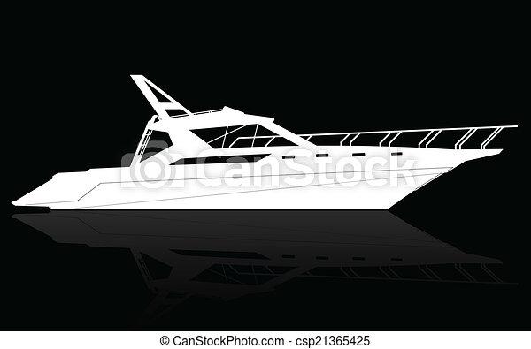 yacht, luxe - csp21365425